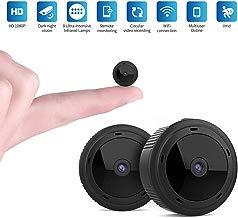 Mini WiFi Cámara Espía,1080P HD Mini WiFi Cámara Oculta Portátil Interior Visión Nocturna por Infrar Rojos Vigilancia Movimiento de iPhone/Android Phone/iPad/PC