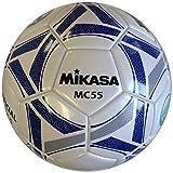 ミカサ(MIKASA) サッカー 日本サッカー協会検定球5号(一般・大学・高生・中学生用) 白/青 貼りボール MC55-WBL