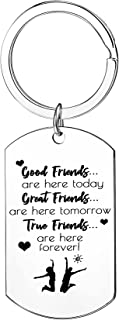 Friendship Gifts Best Friend Keychain For Women Birthday Gift Ture Friends Forever Jewelry