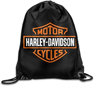 MDSHOP Harley Davidson Drawstring Backpack Sack Bag