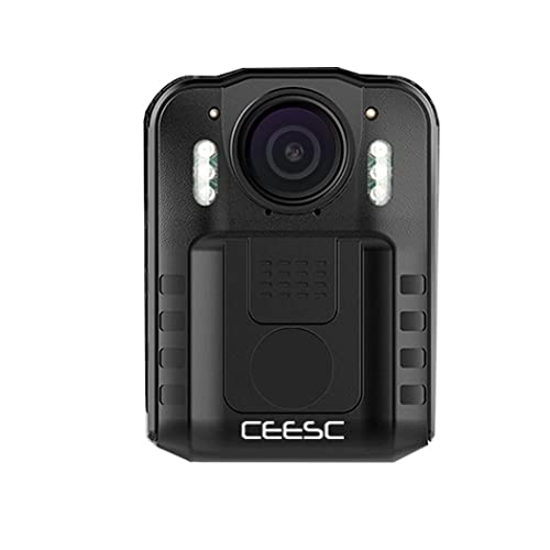 CEESC Body Worn Camera WN9 with Night Vision for Police Law Enforcement, 1080P 2 Inch