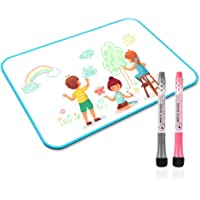 Deals on Junya Whiteboard with Markers for Kids