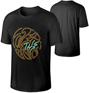 Man's Foster The People Music Band Breathable Outdoor Short Sleeves Cotton T Shirt Gift
