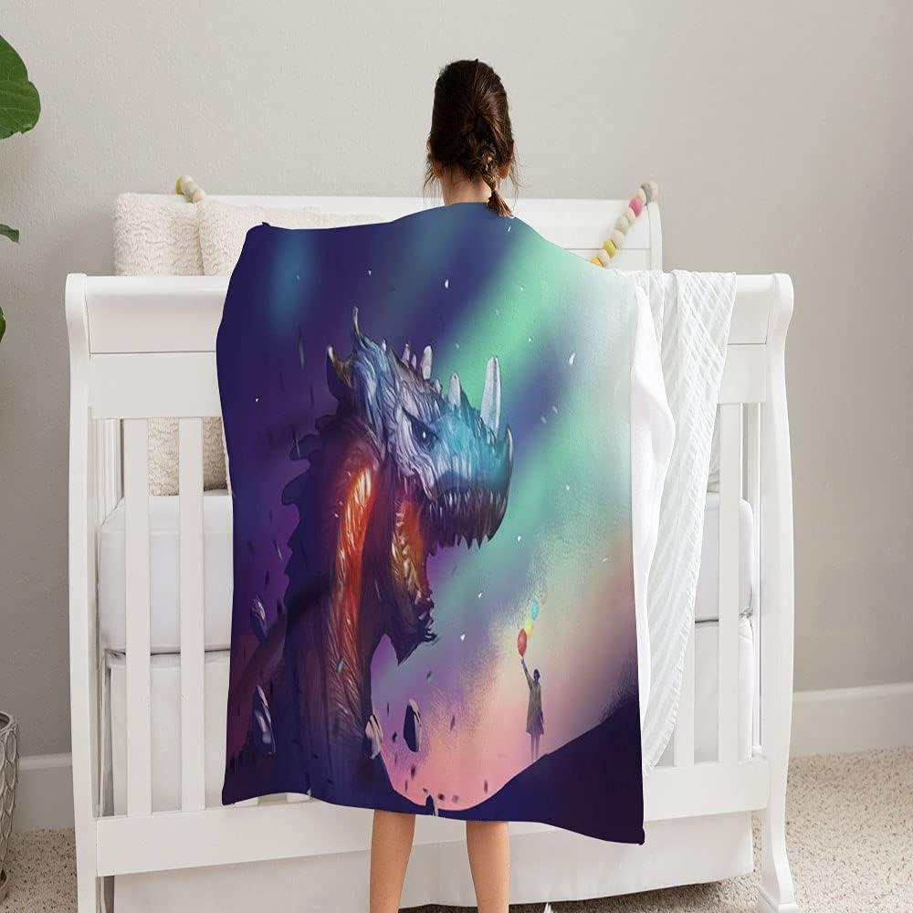 GANTEE Digital Painting Design Style Blanket Super Max 48% OFF favorite Girl Soft an