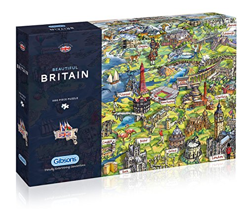 Gibson Games Gibsons PuzzleBeautiful Britain (1000Teile), G7080
