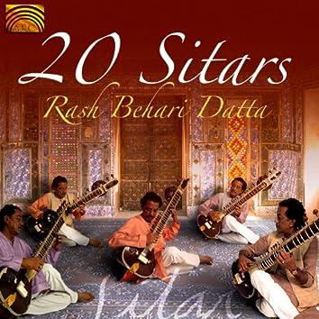 Rash Behari Datta: 20 Sitars