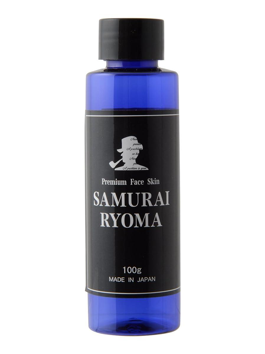 軍背が高い約サムライ リョウマ (SAMURAI RYOMA) オールインワン 化粧水 & アフターシェーブローション メンズ スキンケア 男性 用