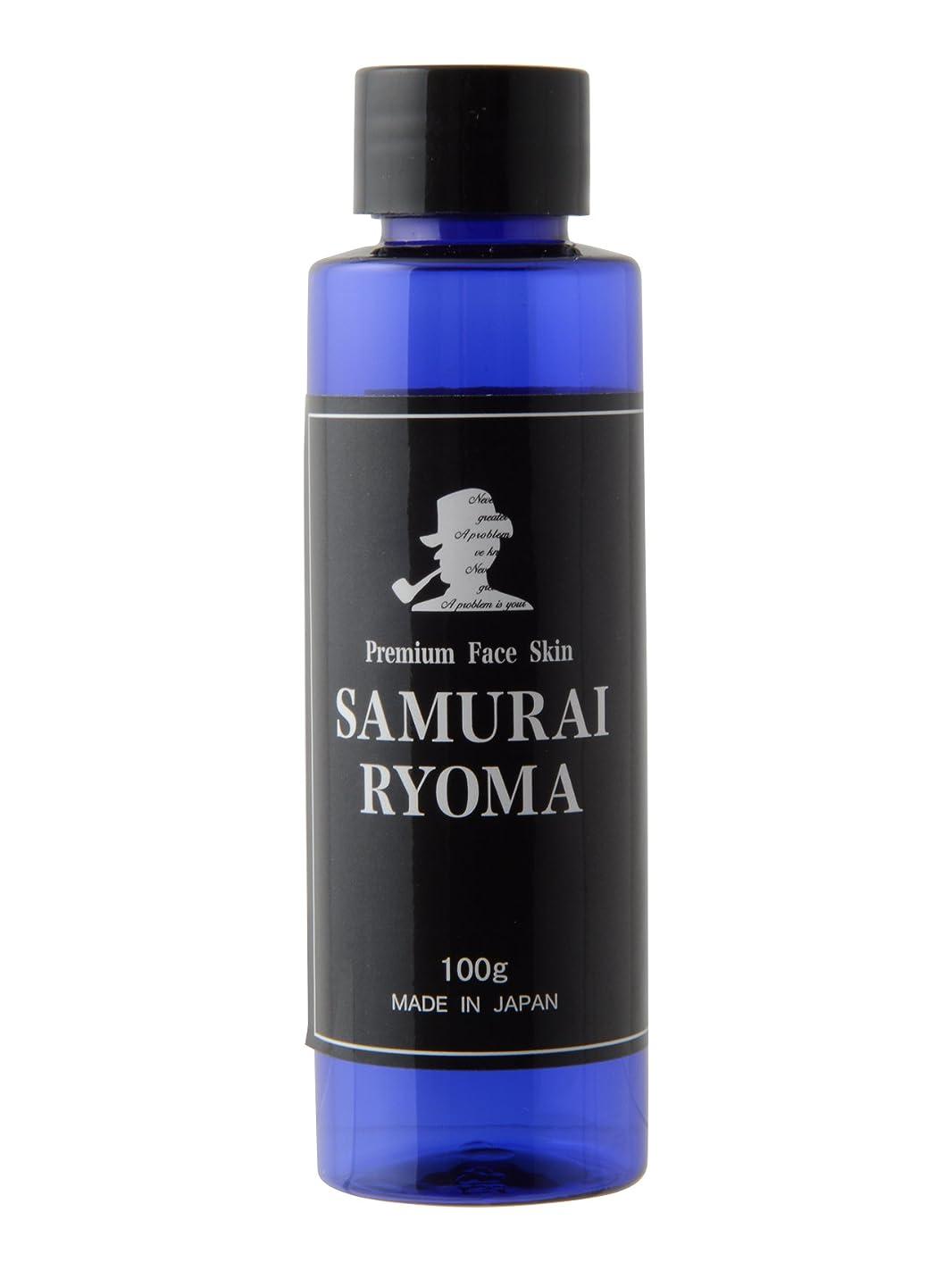 ラブ選択する悲惨サムライ リョウマ (SAMURAI RYOMA) オールインワン 化粧水 & アフターシェーブローション メンズ スキンケア 男性 用