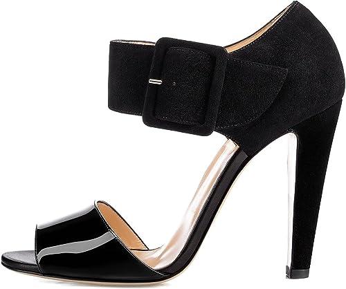 Calaier Femme Capool 11CM 11CM Bloc Boucle Sandales Chaussures  liquidation de la boutique