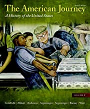 Best the american journey volume 2 6th edition Reviews