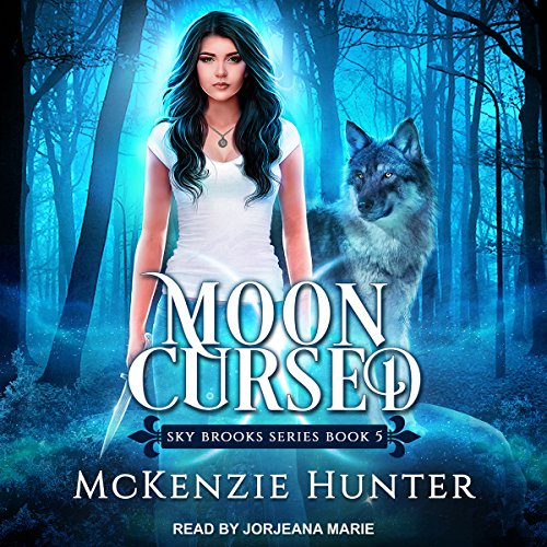 Moon Cursed audiobook cover art