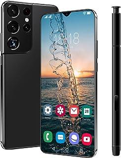 NYDCTHOM Telefony komórkowe S21 Ultra 5G (4 GB / 64 GB), 6,7 cala FHD + pełny ekran, bateria o dużej pojemności 6800 mAh, ...