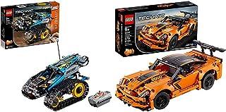 レゴ(LEGO) テクニック RC スタントレーサー 42095 知育玩具 ブロック おもちゃ 男の子 &  テクニック シボレー コルベット ZR1 42093 知育玩具 ブロック おもちゃ 男の子 車【セット買い】