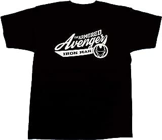 マーベル MARVEL【国内公式監修】Tシャツ アイアンマン カレッジ風Tシャツ