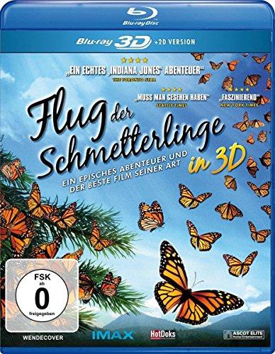 Flug der Schmetterlinge: Blu-ray 3D + 2D
