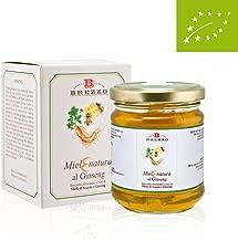 Italian Raw Acacia Honey with Gingseng | Natural Energy | 250g/8.8 oz