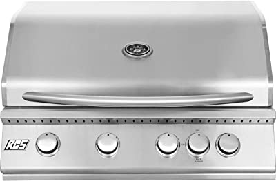 """RJC32ALP Premier 32"""""""" with Liquid Propane Stainless Steel Gas Burners Electronic Sure-Strike Ignition Rear Burner Up to 60000 BTUs"""