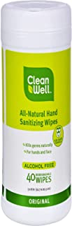 Hand Santz Wipes, Original By Cleanwell - 40 Ct, 5 Pack