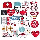 SUNBEAUTY Krankhaus Foto Requisiten Medizin Fotoaccessoires 38 Photo Booth Props medizinische...