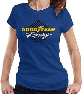 Goodyear Racing logo t-shirt för kvinnor