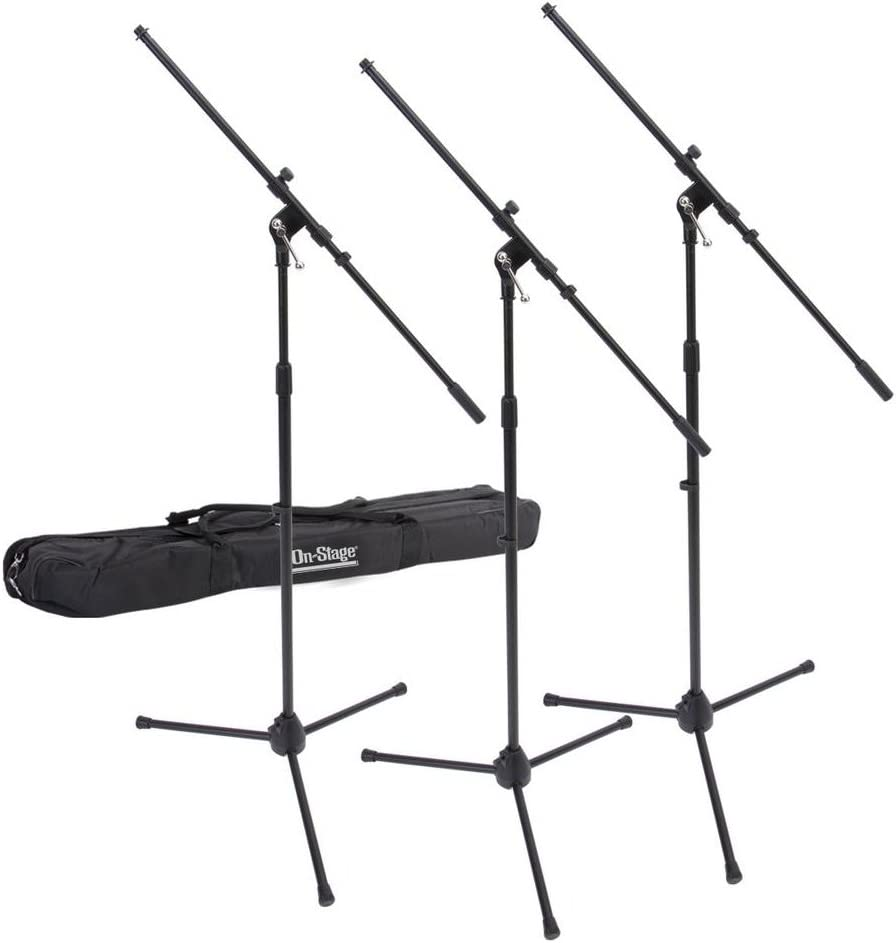 On-Stage MSP77033 Euroboom Microphone Stands 3 with Bag 2021 spring and Very popular summer new Travel