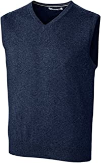 Cutter & Buck Men's Tall B&t Machine Washable Lakemont V-Neck Sweater Vest