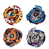 Innoo Tech Beyblade Burst Peonzas Gyro Burst 4 Pcs Spinning Fusión 4D Conjuntos de Metal, Launcher con Estadio, Regalo para niños