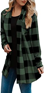 SySea Women's Shawl Collar Cardigan Long Sleeve Elbow Patch Open Front Sweater top
