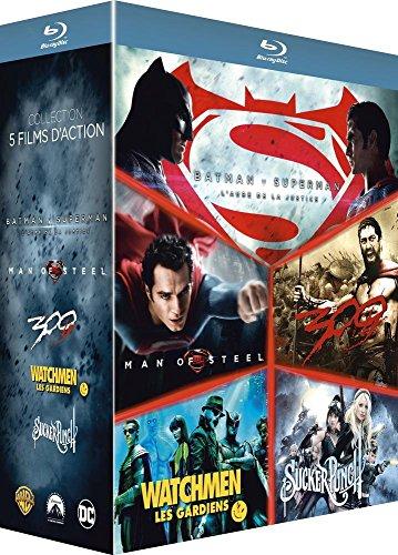 Le Meilleur de Zack Snyder: Batman v Superman, l'aube de la justice + Man of Steel + 300 + Watchmen, les Gardiens + Sucker Punch [Francia] [Blu-ray]
