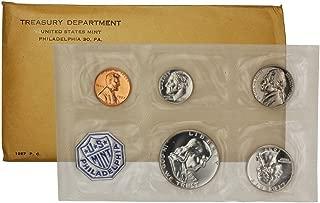 1957 US Proof Set in Original Envelope & Sealed Plastic