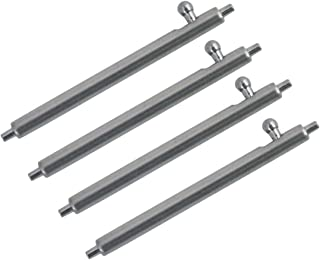 4PCS Quick Release Spring Bar Stainless Steel Watch Pins Diameter 1.8mm