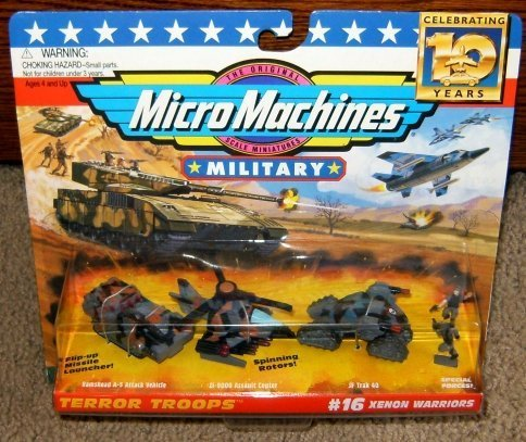 Micro Machines Xenon Warriors #16 Military Collection by Galoob MicroMachines