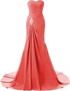 Lily Wedding Women's Mermaid Long Prom Ball Gown