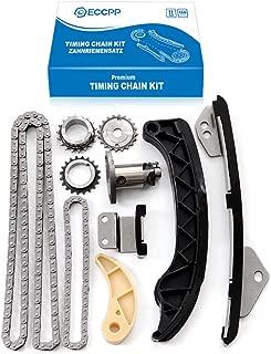 ECCPP Timing Chain Kit Oil Drive set for 2009-2014 Corolla Matrix 1.8 Scion XD Prius 2ZRFE