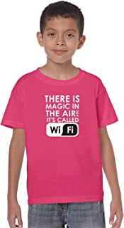 ZoDong Youth Kids There is Magic in The Air and It's Called WiFi Kids T-Shirt