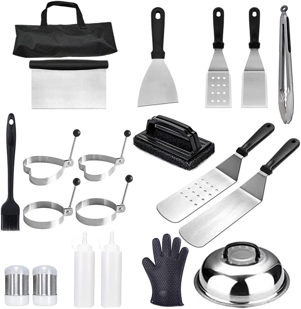 35% OFF BlingGlow 20 Pieces Barbecue Tool Portable Storage with Outlet ☆ Free Shipping Set Bags
