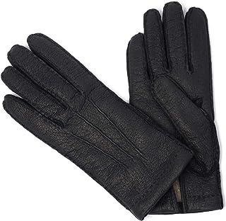 [GANTIER CAUSSE【ガンコス/コース】]手袋/グローブ H0003 PEC/CASH NOIR カシミヤライニング ブラック ペッカリー