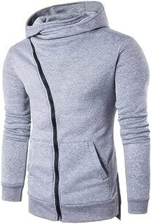 Men's Hoodies, FORUU Zipper Hooded Coat Outwear Sweater Casual Shirt T-Shirts Tops
