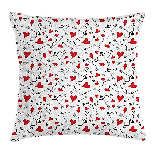 JIMSTRES Retro Mix Tape Multi-Code Polyester Square Zipper Decorative Throw Pillow Case Waist Cushion Cover Pillowcase - for Bedroom Decor Living Room Sofa Bed Chair Car 18 X 18 inches
