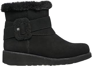 Skechers Women's Keepsakes Wedge - Cozy Wraps Boots