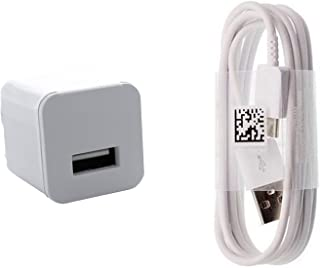 Charging 1.2A Wall Kit Upgrade Works with BlackBerry Motion as a Replacement Compact Wall Charger with Detachable High Power USB Type-C 2.0 Data Sync Cable! (White / 110-240v)