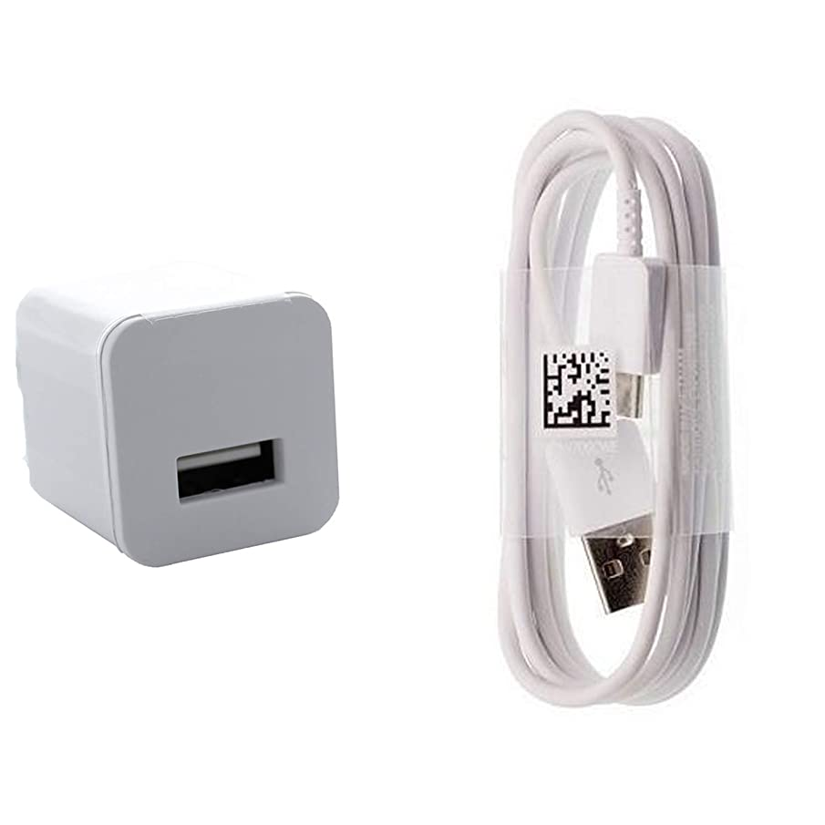 Charging 1.2A Wall Kit Upgrade Works with Lenovo Yoga Tab 3 Plus as a Replacement Compact Wall Charger with Detachable High Power USB Type-C 2.0 Data Sync Cable! (White / 110-240v)