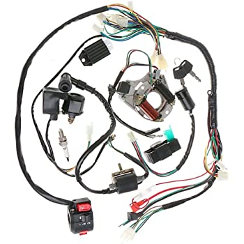 Amazon.com: Annpee Complete Electrics Stator Coil CDI Wiring Harness for 4  Stroke ATV KLX 50cc 70cc 110cc 125cc: AutomotiveAmazon.com