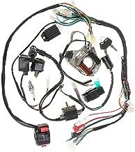 JIKAN Annpee Complete Electrics Stator Coil CDI Wiring Harness for 4 Stroke ATV KLX 50cc 70cc 110cc 125cc