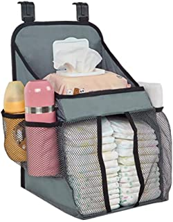 Baby Nappy Organiser For Baby Room  Hanging Bag Storage Bag Fence Hanging Bag Large-capacity Storage Diapers Organizer  Portable Hanging Diaper Organiser