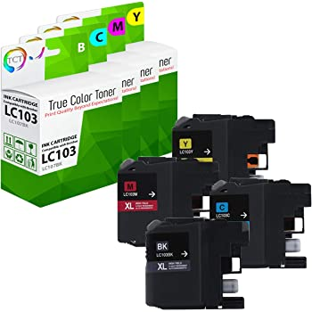Smart Print Supplies Compatible LC103 LC103C LC103M LC103Y Ink Cartridge Replacement for Brother MFC-J470DW J475DW J6920DW J285DW J870DW Printers 6 Pack Cyan, Magenta, Yellow