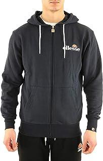 New Ellesse Men's Ginoboli Full Zip Hoodie