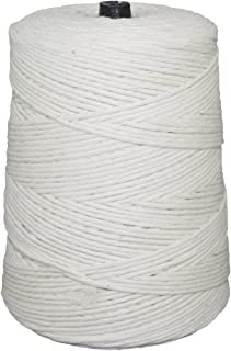 Cotton Butcher Twine with Polyester - SGT KNOTS - 2 Pound Cone (24 ply, 2 lb, 1680 ft) - All-Purpose Kitchen String for Cooking, Wrapping Cuts, Tying Roasts, Food Packaging, Packages, Crafting
