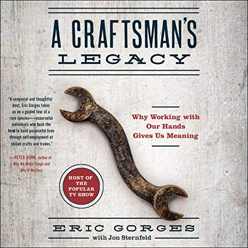 A Craftsman's Legacy audiobook cover art