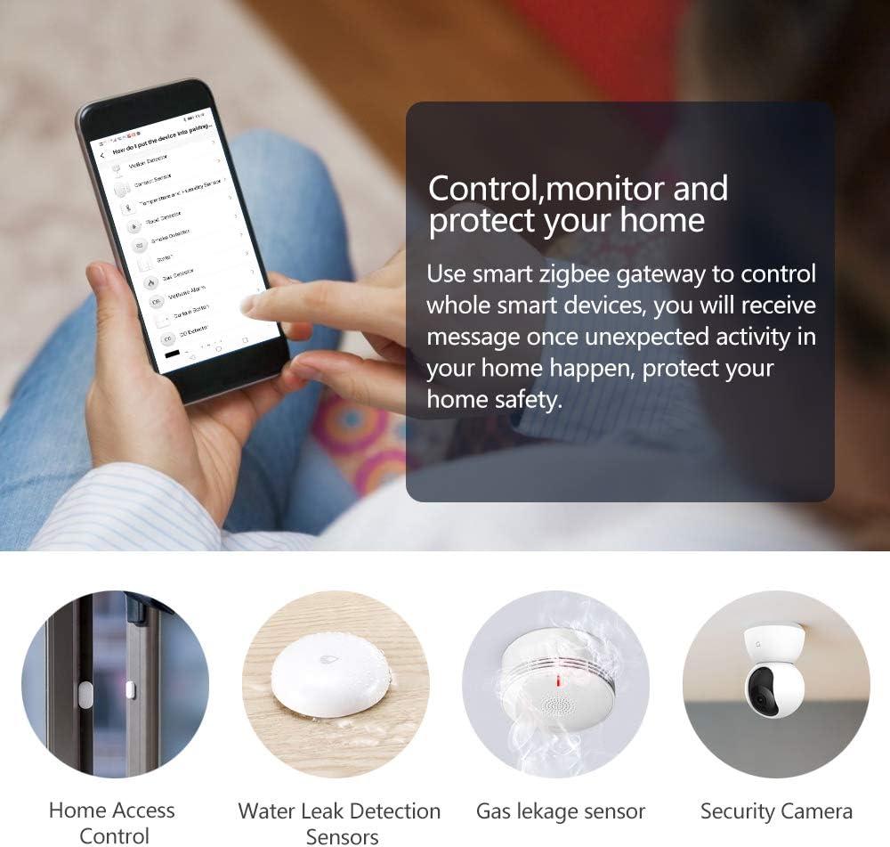Water Leak Sensor,Water Level Monitor,Wireless Zigbee Smart Home ...